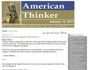 http://www.americanthinker.com/2011/02/the_story_of_the_egyptian_revo.html