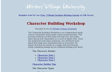 http://www.writersvillage.com/character/index01.htm