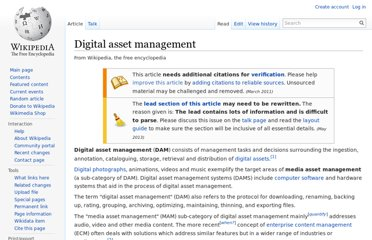 http://en.wikipedia.org/wiki/Digital_asset_management