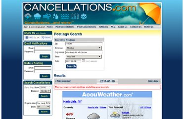 http://www.cancellations.com/visitors/postings.php?FPQuery=10530&FPRadius=10&FGName=Our+Lady+Of+Mt+Carmel&FGState=NY&date_search=2011-01-18&NameSearch=Search