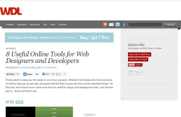 http://webdesignledger.com/tools/8-useful-online-tools-for-web-designers-and-developers