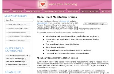 http://www.open-your-heart.org.uk/meditation_groups.do