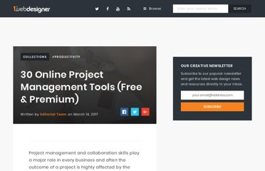 http://www.1stwebdesigner.com/design/best-project-management-collaboration-tools/