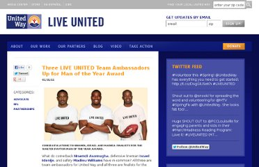 http://liveunited.org/blog/entry/three-live-united-team-ambassadors-up-for-man-of-the-year-award/