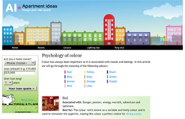 http://www.apartment-ideas.com/psychology-of-colour.html