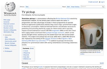 http://en.wikipedia.org/wiki/TV_pickup