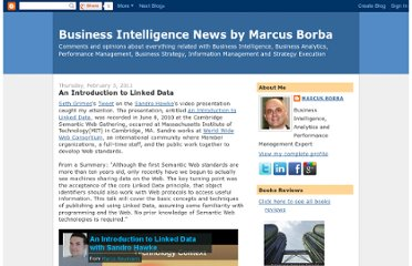 http://mjfb-books.blogspot.com/2011/02/introduction-to-linked-data.html