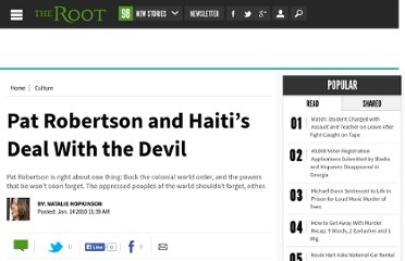 http://www.theroot.com/views/pat-robertson-and-haiti-s-deal-devil