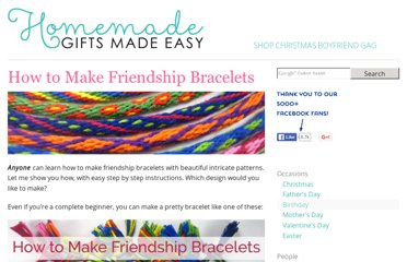 http://www.homemade-gifts-made-easy.com/how-to-make-friendship-bracelets.html