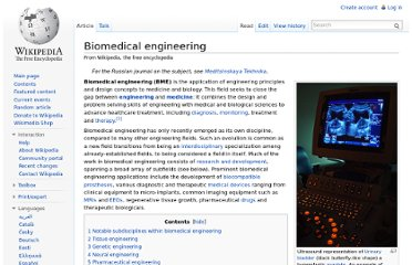 http://en.wikipedia.org/wiki/Biomedical_engineering
