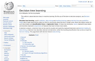 http://en.wikipedia.org/wiki/Decision_tree_learning