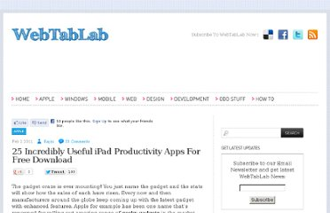 http://webtablab.com/apple/best-free-ipad-productivity-apps/#more-40