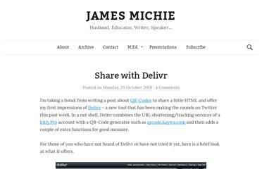 http://jamesmichie.com/blog/2010/10/share-with-delivr/