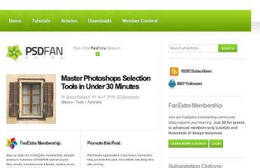 http://psd.fanextra.com/tutorials/master-photoshops-selection-tools-in-under-30-minutes/