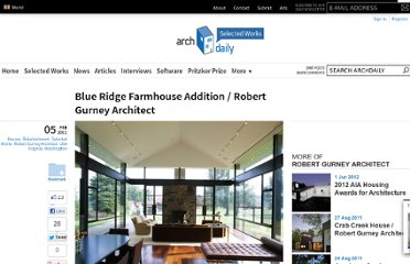 http://www.archdaily.com/109618/blue-ridge-farmhouse-addition-robert-gurney-architect/