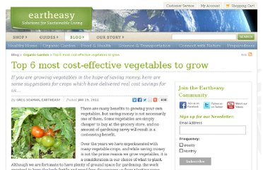 http://eartheasy.com/blog/2011/01/top-6-most-cost-effective-vegetables-to-grow/