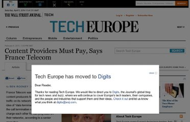 http://blogs.wsj.com/tech-europe/2011/02/04/content-providers-must-pay-says-france-telecom/#