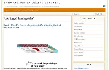 http://commons.esc.edu/cdl-course-highlights/tag/learning-styles/