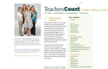 http://www.teacherscount.org/teacher/