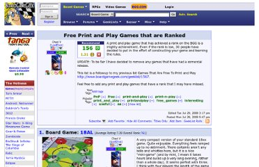 http://www.boardgamegeek.com/geeklist/33437/free-print-and-play-games-that-are-ranked