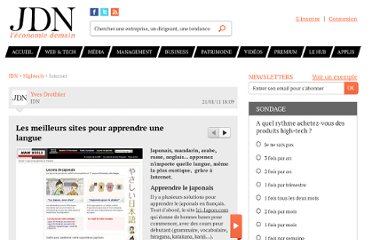 http://www.journaldunet.com/hightech/internet/sites-pour-apprendre-une-langue-etrangere/