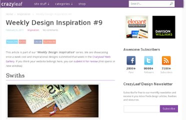http://www.crazyleafdesign.com/blog/weekly-design-inspiration-9/