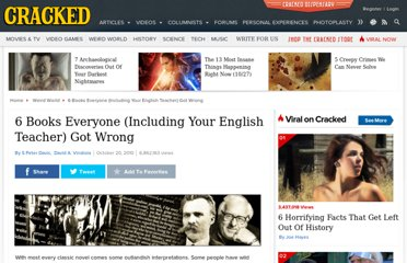 http://www.cracked.com/article_18787_6-books-everyone-including-your-english-teacher-got-wrong.html