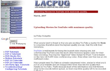 http://lafcpug.org/Tutorials/basic_you_tube.html