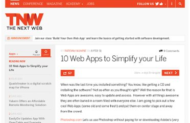 http://thenextweb.com/apps/2011/02/08/10-web-apps-to-simplify-your-life/