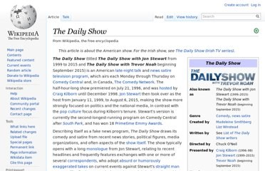 http://en.wikipedia.org/wiki/The_Daily_Show