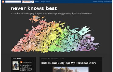 http://neverknowsbest-blograptor.blogspot.com/2011/02/bullies-and-bullying-my-personal-story.html