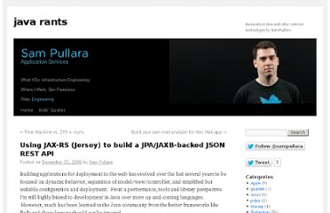 http://www.javarants.com/2008/12/25/using-jax-rs-jersey-to-build-a-jpajaxb-backed-json-rest-api/
