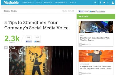 http://mashable.com/2011/02/07/strengthen-social-media-voice/