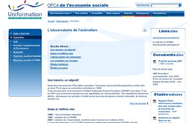 http://www.uniformation.fr/Observatoires/Animation
