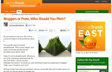 http://socialfresh.com/pitching-bloggers-mainstream-media-or-both/