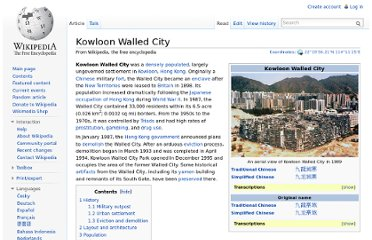 http://en.wikipedia.org/wiki/Kowloon_Walled_City