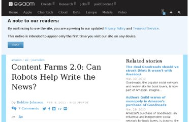http://gigaom.com/2011/02/08/content-farms-2-0-can-robots-help-write-the-news/