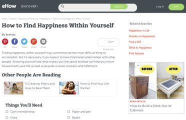http://www.ehow.com/how_2166302_happiness-within-yourself.html