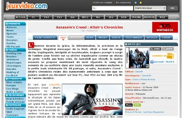 http://www.jeuxvideo.com/articles/0000/00008681-assassin-s-creed-altair-s-chronicles-test.htm