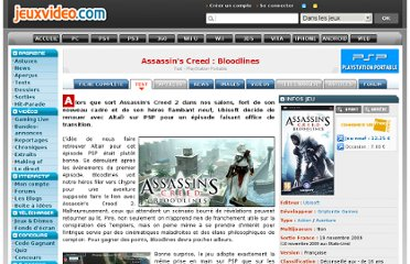 http://www.jeuxvideo.com/articles/0001/00011870-assassin-s-creed-bloodlines-test.htm