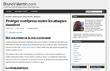 http://www.brunovalentin.com/securite-info/proteger-son-blog-wordpress/