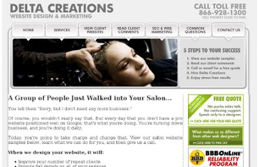 http://www.deltacreations.com/hair_salon_website_design.html