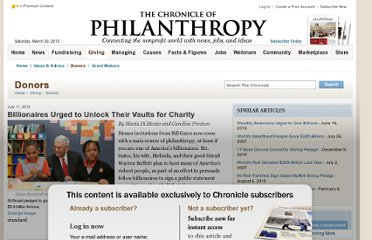 http://philanthropy.com/article/A-Plea-for-Greater-Giving/66195/