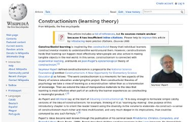 http://en.wikipedia.org/wiki/Constructionism_(learning_theory)