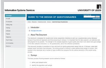 http://iss.leeds.ac.uk/info/312/surveys/217/guide_to_the_design_of_questionnaires