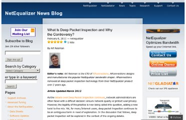 http://netequalizernews.com/2011/02/08/what-is-deep-packet-inspection-and-why-the-controversy/