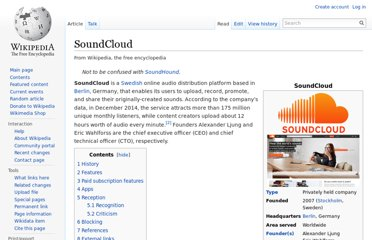 http://en.wikipedia.org/wiki/SoundCloud
