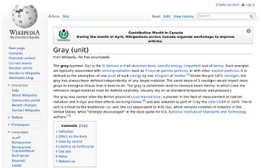 http://en.wikipedia.org/wiki/Gray_(unit)