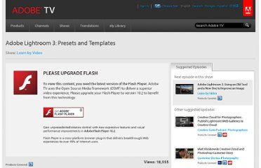 http://tv.adobe.com/watch/learn-by-video/adobe-lightroom-3-presets-and-templates/