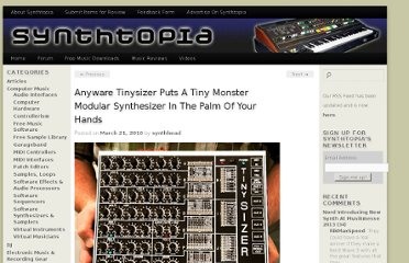 http://www.synthtopia.com/content/2010/03/21/anywhere-tinysizer-puts-a-tiny-monster-modular-synthesizer-in-the-palm-of-your-hands/